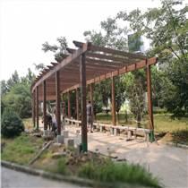 山東德州供應仿木廊架 水泥花架廠家 可定制樣式 尺寸