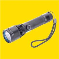 聚光泛光手電,高亮度遠射程電筒,強光巡檢應急手電筒