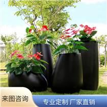 玻璃鋼花盆花缸商場美陳創意花箱樹池定制戶外簡約花缽花