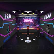 智龍體育室內模擬拳擊體驗館運動館游樂場拳擊設備
