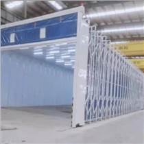 30米以上大寬度伸縮噴漆房 技術方案及配置
