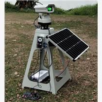 廣州綠歌1W全自動太陽能激光驅鳥器帶遙控定時鍵盤