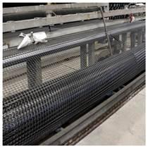 山東土工格柵生產廠家 黑色塑料土工格柵網