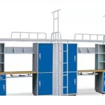 朔州學生宿舍雙層床 兩層上下鋪高低床廠家定制