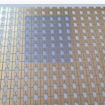 薄膜電路掃金/金層圖案化