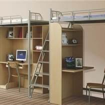 晉城世騰單人公寓床書柜一體 鐵藝床定制性能可靠