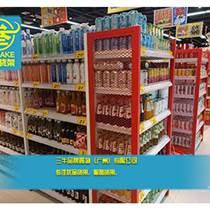 廣州三牛貨架設計的kkv進口食品集合店面面都好
