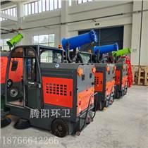 騰陽電動駕駛式掃地車的自動化作業