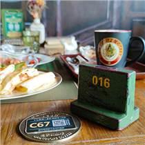 長沙老歐洲咖啡的候餐定位牌什么作用