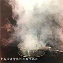 煙機集成灶演示測試-煙霧炒鍋