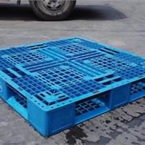 多規格塑料托盤 藍色倉庫貨架防潮墊板