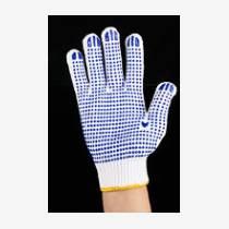 棉蓋滌線手套現貨批發棉線針織勞保手套